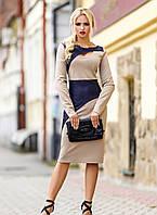 Женские трикотажные платья больших размеров