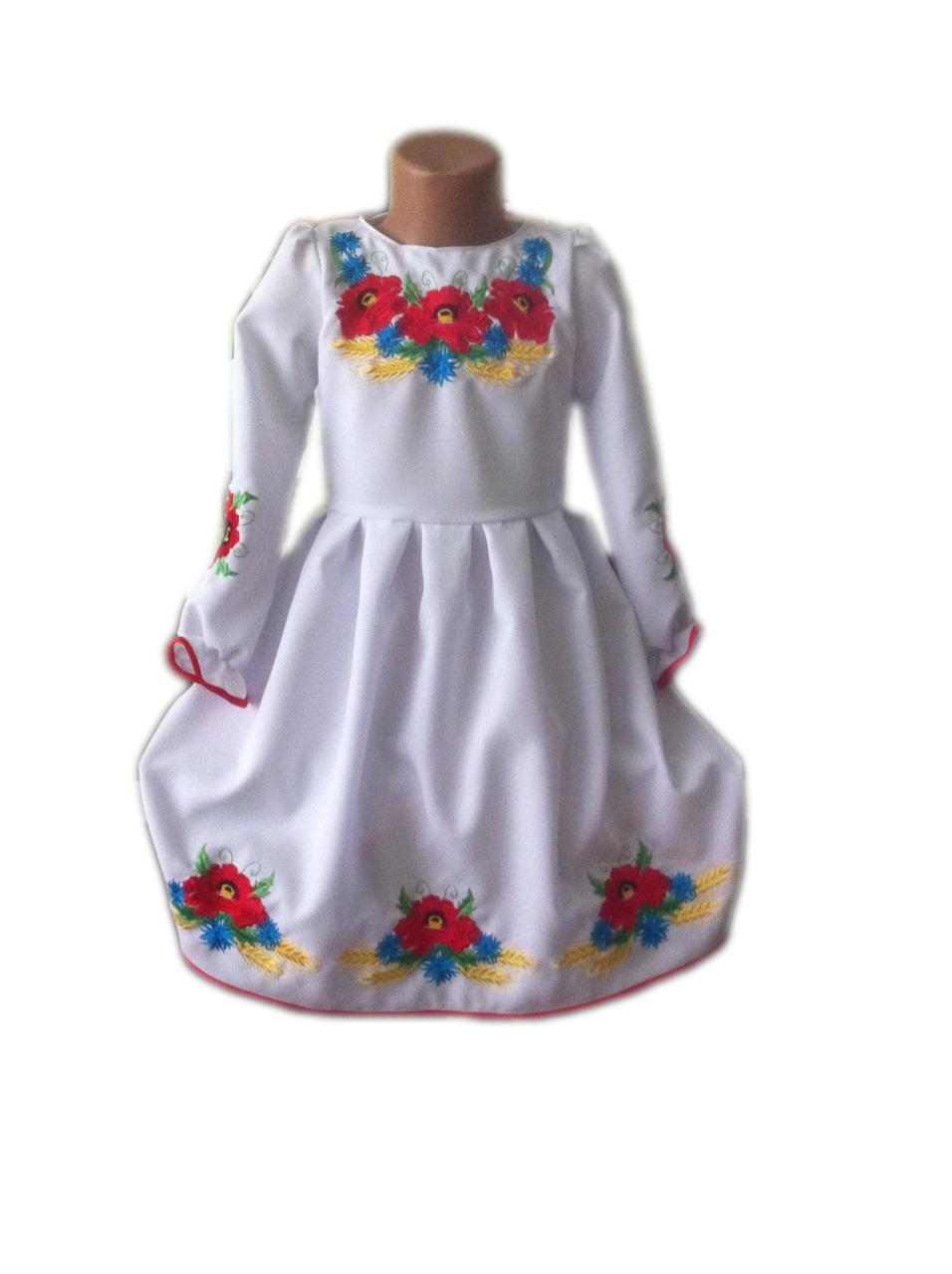 """Вишите плаття для дівчинки """"Лорет"""" (Вышитое платье для девочки """"Лорет"""") DT-0022"""