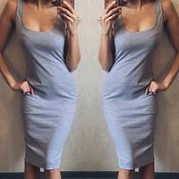 Строгое платье из высококачественной вискозы