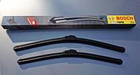 Дворники Bosch (Бош) AeroTwin (АероТвин) на GMC (ДЖМС) Yukon  09.99-08.06  Крючек AR 500 мм. S  , 3 397 118 906  , 500 мм. на 530 мм.
