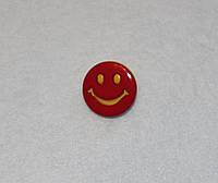 Пуговица Смайлик красный 594 поштучно