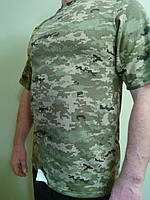 Футболка мужская трикотажная камуфляж размер 48,50,52.