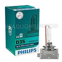Ксеноновая лампа  Philips D3S X-tremeVision gen2 42403XV2C1 +150%