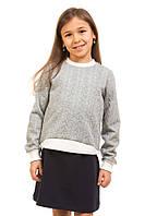 Модная кофточка Корона для девочки 5-10 лет (размер 110-140) ТМ Kids Couture