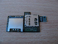 Шлейф HTC Z710e Sensation G14 / Z715e Sensation XE G18, с разъемом на карту памяти, с разъемом на sim карту
