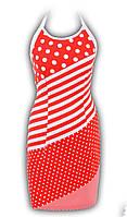 Платье № 1406 горчица