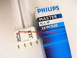 Лампа PHILIPS MASTER PL-L 36W/840/4P 2G11 (Польша)