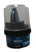Wooster Крем-фарба длядогляду за шкіряним взуттям чорна 55мл