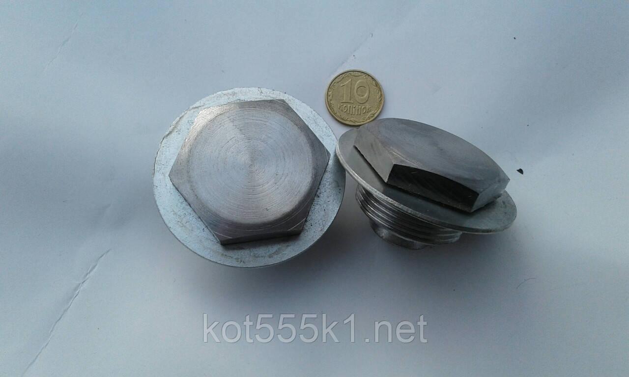 Пробка пера передней вилки Ява 638-640/ЧЗ472.5-6.(Без шайб )