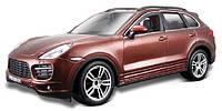 Авто-конструктор - PORSCHE CAYENNE TURBO (коричневый металлик, 1:24)