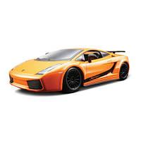 Авто-конструктор - LAMBORGHINI GALLARDO SUPERLEGERRA 2007 (оранжевый металлик, 1:24), Bburago