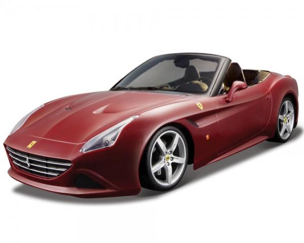 Автомодель Ferrari California T Bburago 1:24 бордо