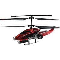 Вертолет радиоуправляемый - PHANTOM INVADER контроль высоты (красный, 20 см, с гироскопом, 3 канала)