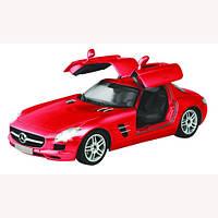 Автомобиль радиоуправляемый Auldey - Mercedes-Benz-Sls-Amg красный, 1:16 батарейки в комплекте