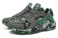 Мужские кроссовки Nike Air Huarache military camouflage , фото 1