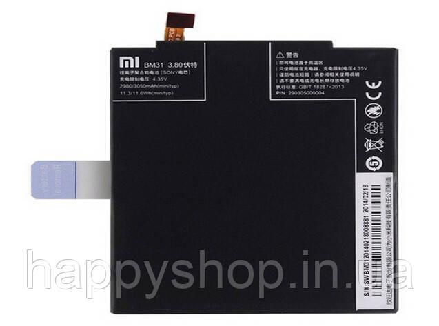 Оригинальная батарея Xiaomi Mi3/M3 (BM31), фото 2