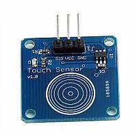 Ёмкостная сенсорная цифровая кнопка TTP223 TTP223B датчик касания, модуль для Arduino и других микроконтроллер