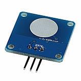 Ёмкостная сенсорная цифровая кнопка TTP223 TTP223B датчик касания, модуль для Arduino и других микроконтроллер, фото 2