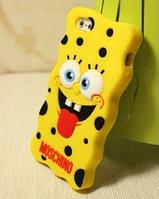 3D силиконовый чехол для Iphone 5/5s/5se/6/6s Губка Боб