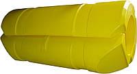 Поплавок пластиковый пульпопровода для земснаряда, поддержания кабелей и т.п. на воде