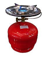 Газовый комплект Пикник Italy 5л, фото 1