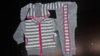 Детский спортивный костюм  с ушками велюровый  с 26-32 р-р