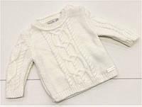 Детский вязаный свитер для девочки на 6 - 24 месяца