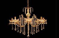 Люстра хрустальная на восемь ламп LS8915-8