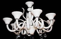 Люстра хрустальная на восемь ламп LS9039-8