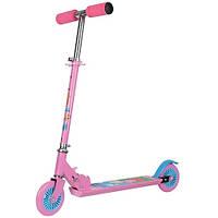 Скутер детский лицензионный Peppa 2-х колесный, складной Скутер лицензионный - PEPPA (2-х колесный, складной, алюминиевый)