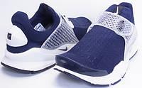 Кроссовки мужские nike air presto new sock dart dark blue, фото 1