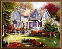 """Схема для вишивки бісером """"Будинок в лісі"""""""
