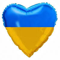 "Сердце ""Флаг Украины"" ( Испания)"