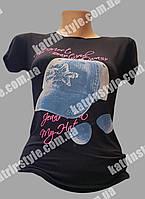 Стильная молодёжная футболка с рисунком