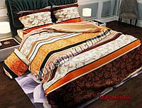 Евро набор постельного белья 200*220 Полиэстер №012