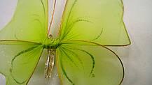 Декоративная Бабочка для штор зеленая , фото 3