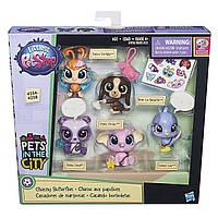 Игровой набор Littlest Pet Shop Multi Pet Pack 5 зверушек