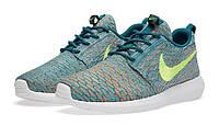 Кроссовки мужские Nike Roshe Run II Flyknit Blue
