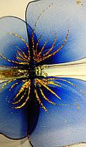 Декоративная Бабочка для штор синяя, фото 2
