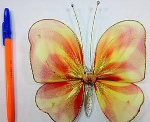 Декоративная Бабочка для штор радуга, фото 2