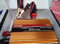 Инвертор напряжения 24В 220В 500 ВТ+постоянное USB-порт 5В, 800 мА