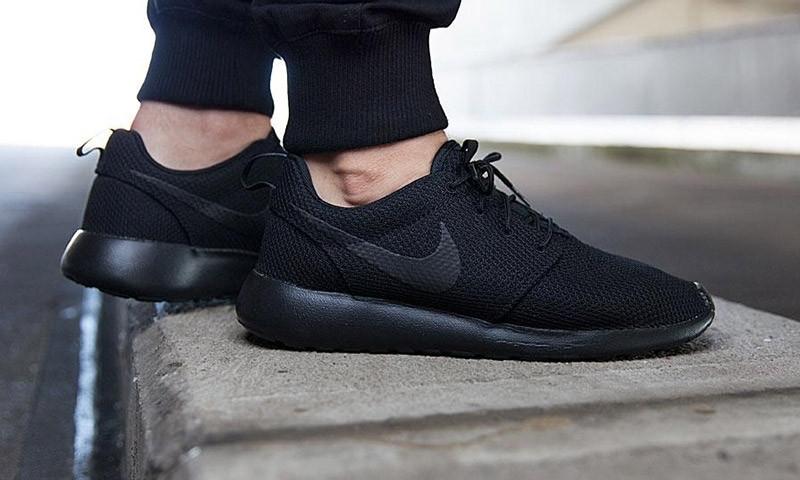 Кроссовки мужские Nike Roshe Run II New Black, фото 1