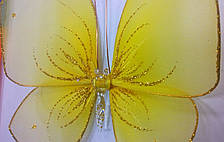 Декоративная Бабочка для штор желтая, фото 3