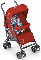 Прогулочная коляска-трость CAM Flip Красный с цветным матрасиком