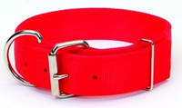 Двойной ошейник для собак, нейлон, Coastal MACHO DOG, 4,5см * 61см  красный