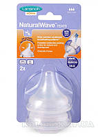 Соска для естественного кормления Natural Wave L, быстрый поток, 2 шт. Соска для естественного кормления Natural Wave (L, быстрый поток, 2 шт.)