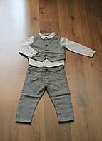 Классический костюм-тройка для мальчиков от производителя F&D, Венгрия. Р-ры: 1-5