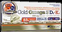 Olimp Gold Omega 3 65% D3+K2 30 caps