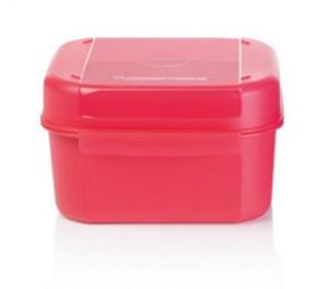 Ланч-бокс Кристальная емкость 450 мл Tupperware в ярко-розовом цвете