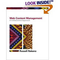 Nakano Russell Web Content Management. A Collaborative Approach